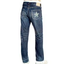 Sugarcane Vintage Cut SC40901H Lone Star Hard Dark Japanese Selvedge Denim Jeans for Men CANE3075