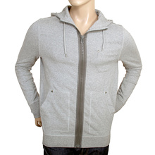 Boss Orange Label grey 50240608 Ztylo zip up mens Hugo Boss sweatshirt BOSS0811