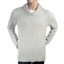 Scotch & Soda mens grey 1304 08 60040 shawl collar knitwear sweater SCOT31341