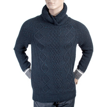 Scotch & Soda mens twisted shawl collar 1304 08 60021 knitwear sweater SCOT3128