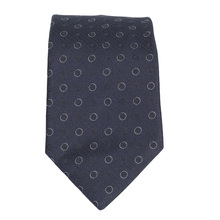 Hugo Boss mens navy spotted 50275319 silk tie BOSS4330