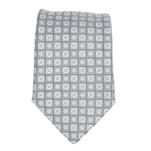 Hugo Boss mens grey mini floral 50267532 silk tie BOSS3881