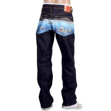 RMC Jeans Dark Indigo Genuine Super Exclusive Toyo Story the Sea Embroidered Vintage Raw Selvedge Jeans REDM9079