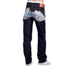 RMC Jeans Dark Indigo Super Exclusive Toyo Story Tokaido Village Embroidered Vintage Raw Selvedge Jeans REDM9080