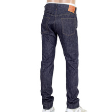 Sugarcane Mens Denim Non Wash SC42014N Slim Fit Straight Leg Navy Jeans CANE4443