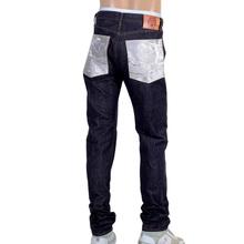 RMC Martin Ksohoh Indigo Selvedge Slim Fit 1111 Model Embroidered Silver Bushi Raw Denim Jeans RMC2772