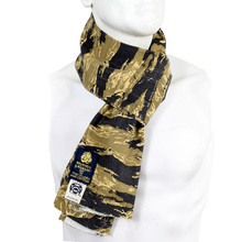 RMC Jeans Tiger Camo Print Cotton Vintage Mens Neck Scarf RMC2195