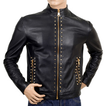 Versace mens studded jacket VERS2582