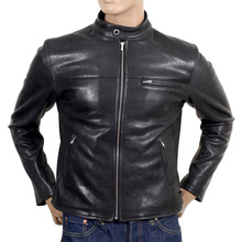 RMC Jeans biker jacket in black REDM4488