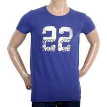 Scotch & Soda mens garment dyed t shirt SCOT3689