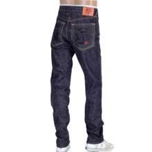 RMC 4A Band Black Embroidered FM Union 1001 Raw Selvedge Indigo Denim Jeans RMC1931
