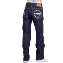 RMC Martin Ksohoh 4A FM Union Indigo 1001 Slim Cut Mens Raw Selvedge Denim Jeans RMC1934