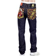 Yoropiko RMC Martin Ksohoh RQP14034 Indigo Embroidered Raw Selvedge Denim Jeans RMC2193