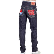 RMC Martin Ksohoh 1001 Slim Cut RQP14038 Mens Raw Indigo Selvedge Denim Jeans RMC4144