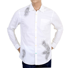 Scotch & Soda mens white long sleeve shirt SCOT3660