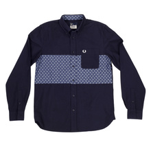 Fred Perry Drakes paisley panel shirt FPRY4204