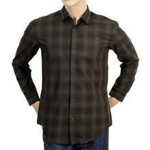 Mens Boss Black slim fit shirt BOSS4388