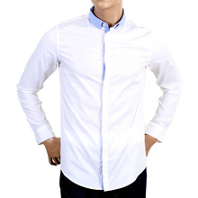Armani Jeans white mens stretch shirt AJM4011
