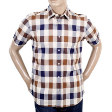 Aquascutum Classic Large House Check Shirt AQUA4432
