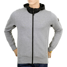 Descente Grey Marl Sweatshirt with Hood DESC3283