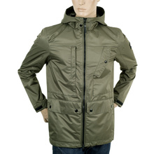 Descente Mens Green Storm Parka  Jacket DESC3281