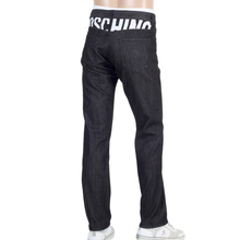 Moschino Mens Black Stretch Denim Jeans MOSM4805