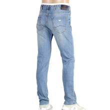 Blue Slim fit Armani J06 Stonewashed Stretch Denim Jeans AJMn5967