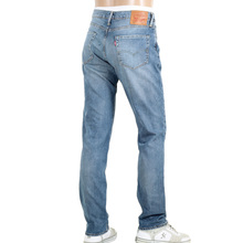 Levis 511 Iron Harbour Slightly Stretched Slim Fit Jeans in Light Blue with Zip Fly LEVI6212