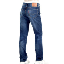 Levis Extra Hard Wearing Iron Brutus Washed Mid Blue Low Waist Jeans with 511 Slim Fit LEVI6214
