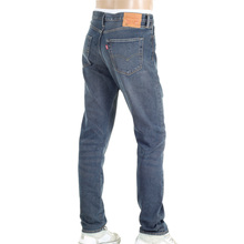 Levis 522 Tapered Blue Grey Littlefield Slim Fit Jeans with Fading Finish LEVI6215