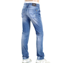 Slim Fit  Jeans by Versace with Vintage Worn Finish VERS6148