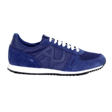 Blue Sneakers Lo Top by Armani jeans AJM6036