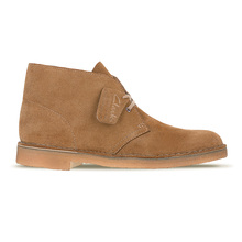 1950s Clarks Originals Cola Suede Upper and Crepe Beige Sole Desert Boots for Men CLAR6366