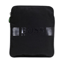 Pixel Messenger Bag in Navy from Boss Green with an Adjustable Canvas Strap BOSS5883