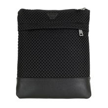 Armani Jeans Messenger Bag With Logo In Black AJM6033