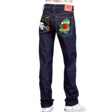 RMC Super Exclusive British PIRATES and Rose Regular Fit 1001 Model House Selvedge Raw Denim Jeans REDM0398