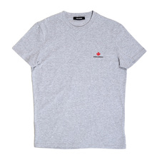 Dsquared2 Grey T Shirt With Maple Leaf Logo DS26292