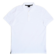 White Boss Polo Shirt With Chest Logo BOSS5783