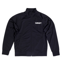 Carhartt College Track Jacket In Black CARH6840