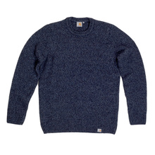 Carhartt Crew Neck Sweater In Navy Heather CARH6833