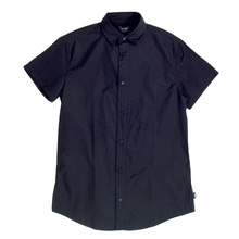 Armani Jeans Navy Blue Short Sleeve Shirt AJM5985