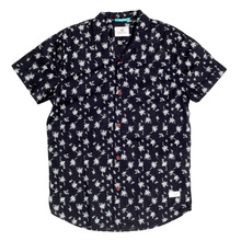Scotch & Soda Hawiian Print Black Shirt SCOT4858