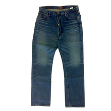 Sugar Cane Mens SC41945H Dark Blue Hard Wash Vintage Cut African Cotton Selvedge Denim Jeans CANE5248
