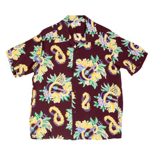 5ba3c5fc109 Sun Surf Hawaiian Macintosh Ukulele Printed Wine Regular Fit Short Sleeved  Shirt for Men SURF7533