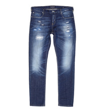 Scotch & Soda 138802 Skim Royal Bliss Skinny Fit Jeans with Worn Finish and Heavy Fading SCOT7290