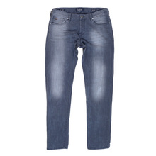 Scotch & Soda Ralston 135140 Washed Grey Jeans for Men with Regular Slim Fit and Worn Look SCOT6969