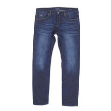 Scotch & Soda Ralston 136055 Washed Indigo Blue Jeans for Men with Regular Slim Fit and Worn Look SCOT6966