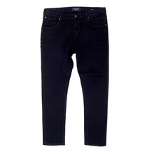 Scotch & Soda Super Skinny Fit Dart 135083 Rinsed Black Denim Jeans with Slight Creasing SCOT6971