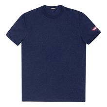 Dsquared2 Mens Navy Blue T Shirt with Sleeve Logo DSQ28347
