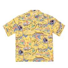 Sun Surf Mens The Song of Hawaii Yellow Hawaiian Shirt SURF9038